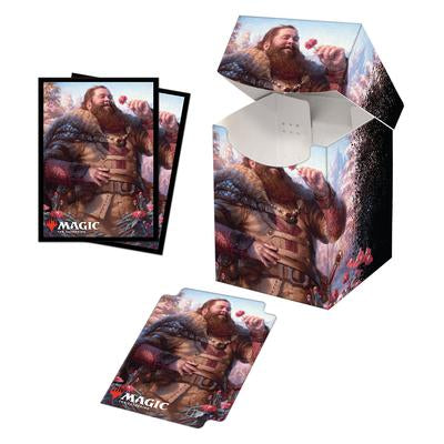 Commander Legends Hans Eriksson PRO 100+ Deck Box and 100ct Sleeves Combo