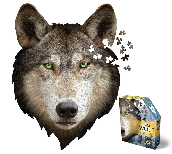 I AM WOLF 550 pc PUZZLE