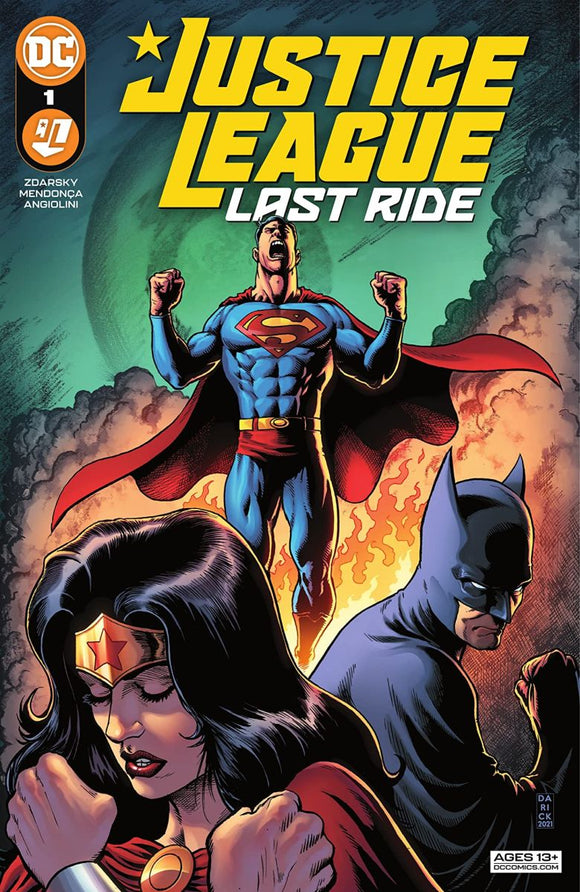 Justice League Last Ride #1
