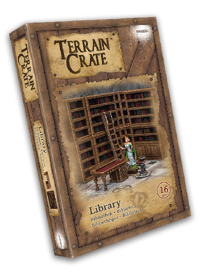 Terrain Crate Environment Miniatures Library 16 pcs