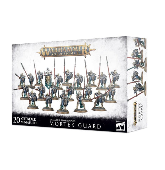 Warhammer Age of Sigmar: Mortek Guard