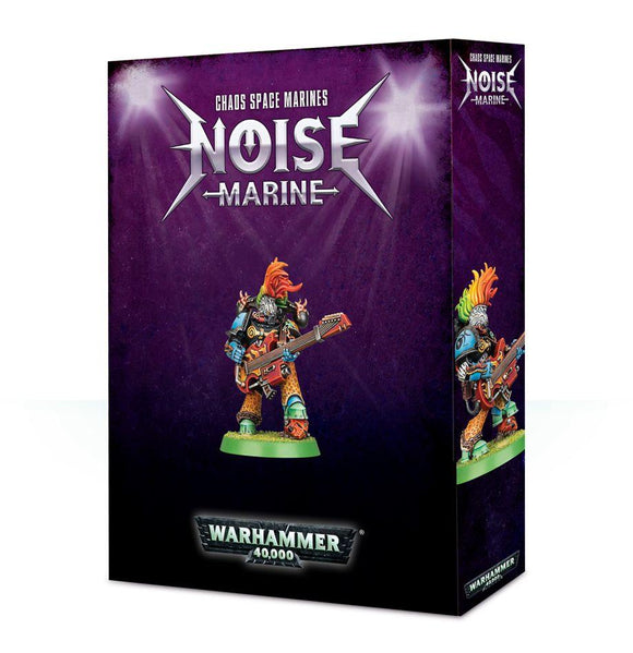 Chaos Space Marines: Noise Marine 2018