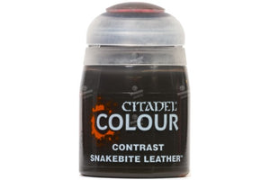 Contrast Snakebite Leather