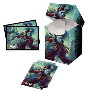 Commander Legends Sakashima of A Thousand Faces PRO 100+ Deck Box & 100 ct. Sleeves Combo