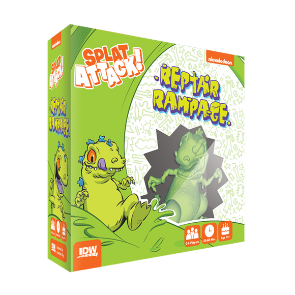 Nickelodeon: Splat Attack! – Reptar Rampage Expansion
