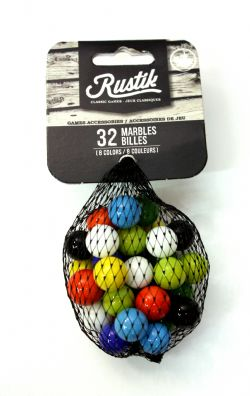 8 Player Tock 32 Replacement Marbles for Super Tock