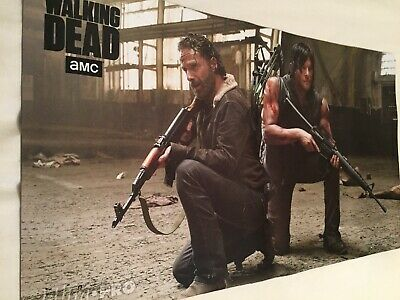PLAY MAT - THE WALKING DEAD: RICK & DARYL