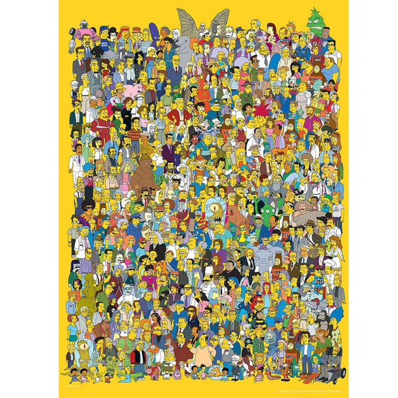 "The Simpsons ""Cast of Thousands"" 1000 pc"
