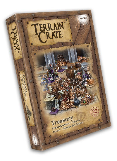 Terrain Crate Environment Miniatures Treasury 22 pcs