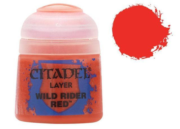 Layer Wild Rider Red