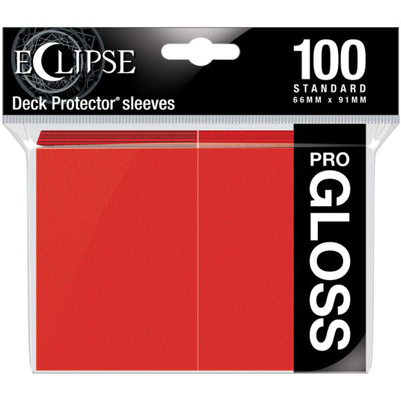 ULTRA PRO 100 ECLIPSE GLOSS APPLE RED