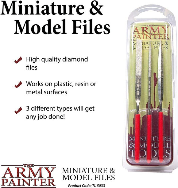 Army Painter Miniature and Model Files 3pc
