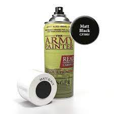 The Army Painter Matte Black Spray CP3001