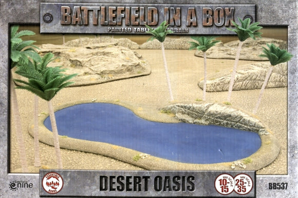 BATTLEFIELD IN A BOX  -  DESERT OASIS