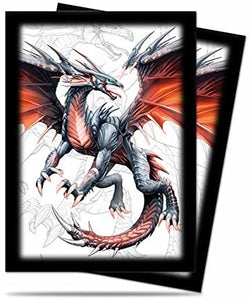 "Ultra Pro ""Black Dragon"" Deck Protector Sleeves for Magic & Pokemon (50 ct.)"