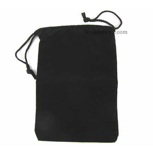 "Koplow Dice Bag 6 ""x 9"" Cloth Black"