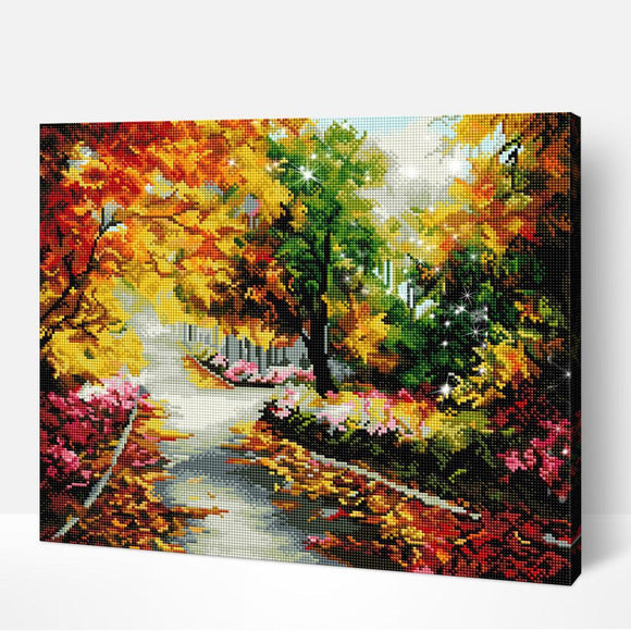 5D Diamond Painting Bright Autumn