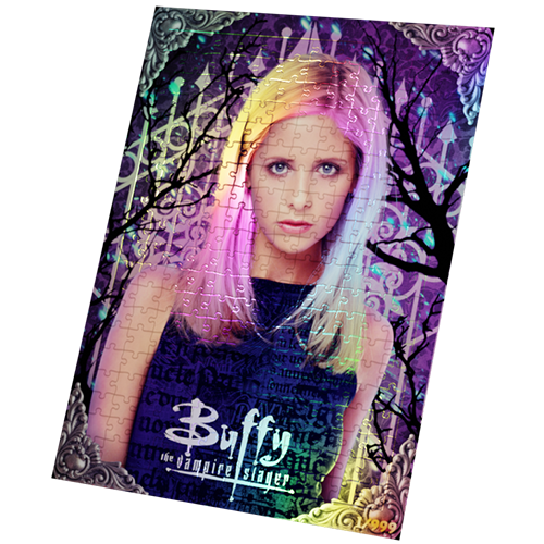 BUFFY THE VAMPIRE SLAYER LIMITED EDITION FOIL COLLECTOR'S PUZZLE