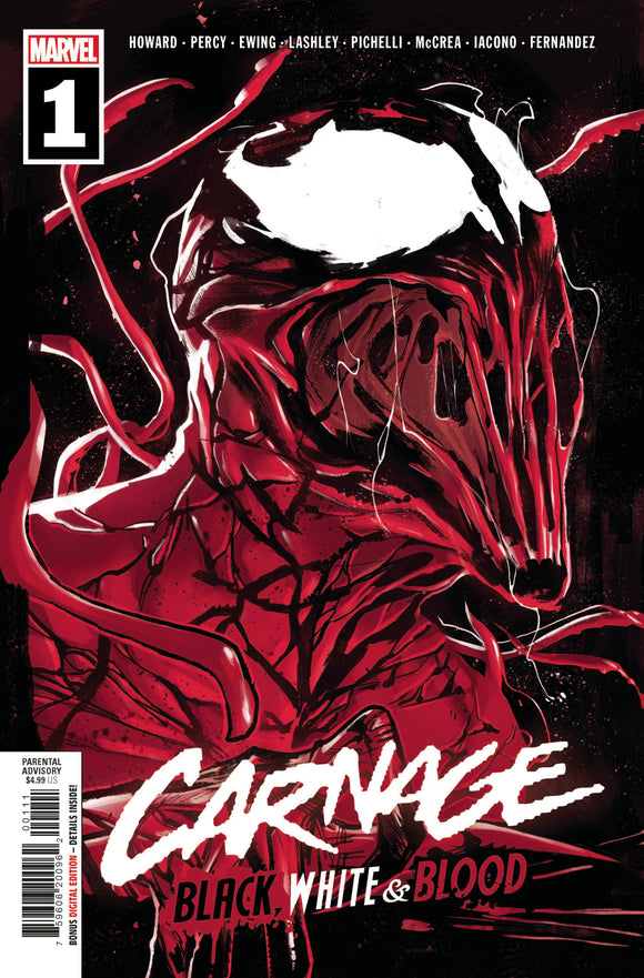 CARNAGE BLACK WHITE AND BLOOD #1 (OF 4)