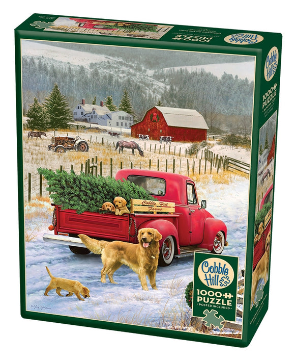 Christmas on the Farm 1000pc Puzzle