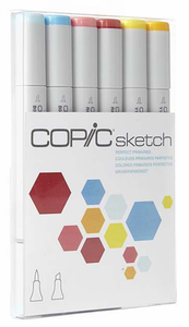 Copic® Perfect Primaries Sketch Marker Set