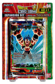 DRAGON BALL SUPER CARD GAME EXPANSION SET04 -Unity of Saiyans-