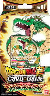 DRAGON BALL SUPER CARD GAME STARTER DECK ~SHENRON's ADVENT