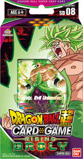 DRAGON BALL SUPER CARD GAME STARTER DECK ~RISING BROLY
