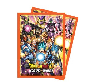 Dragon Ball Super Standard Size Deck Protector sleeves 65ct. - All Stars