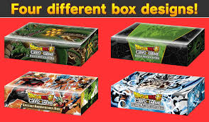 DRAGON BALL SUPER CARD GAME Special Anniversary Box