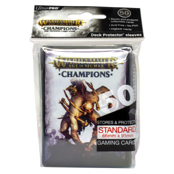Warhammer: Age of Sigmar - Champions Death Sleeves (50ct) Champions