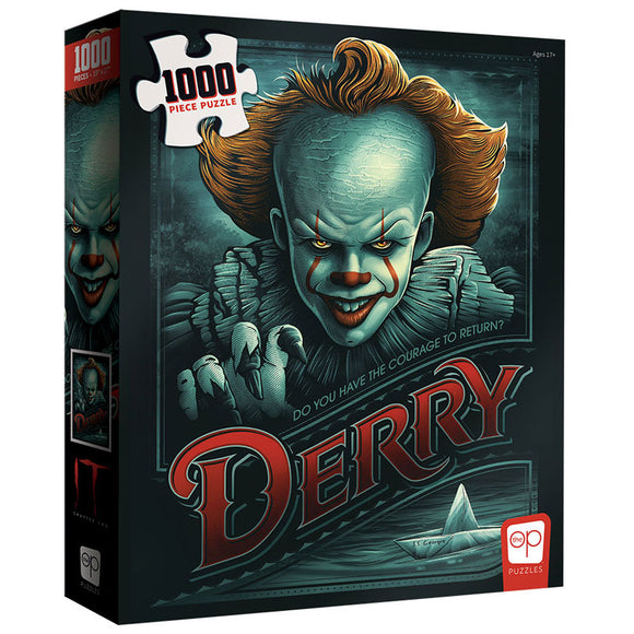 "IT Chapter Two ""Return to Derry"" 1000 Piece Puzzle"