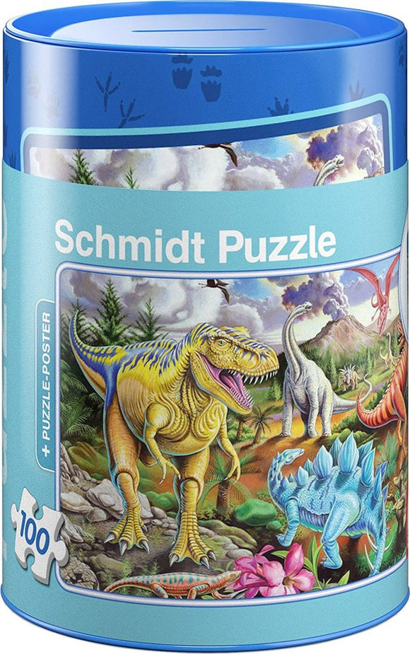 Dinosaur Puzzle/ Coin Bank
