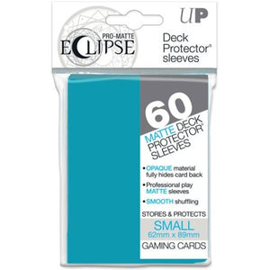 Ultra Pro Small Card Sleeves Pro-Matte Eclipse - Small, Sky Blue (60)