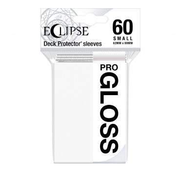 Eclipse Gloss Small Sleeves: Arctic White