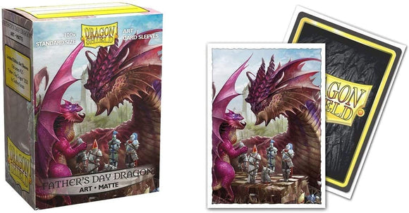 Dragon Shield Sleeves: Matte - 2020 Father's Day Dragon (100)