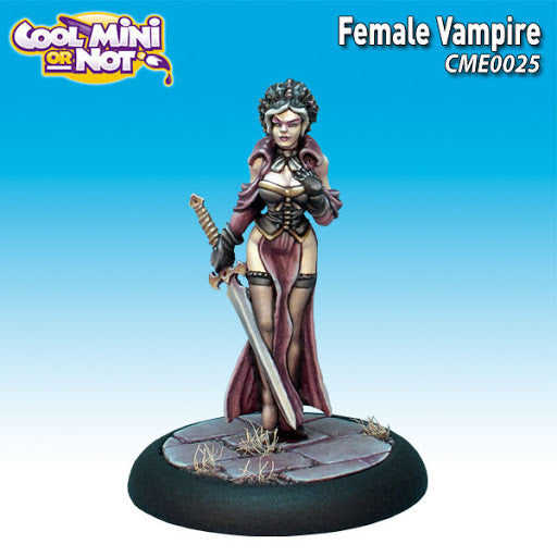 Cool Mini or Not Female Vampire CME0025