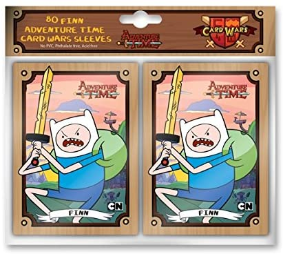 Adventure Time Card Wars Sleeve Finn