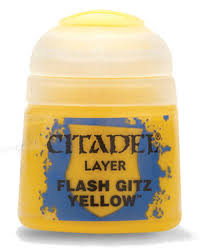 Layer Flash Gitz Yellow