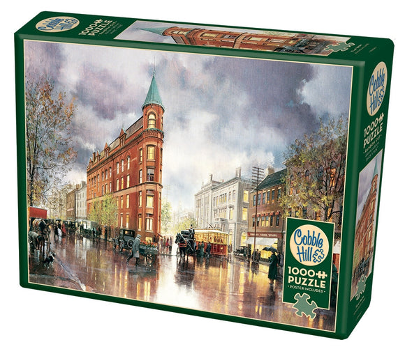 Cobble Hill Flat Iron 1000 Pc Puzzle