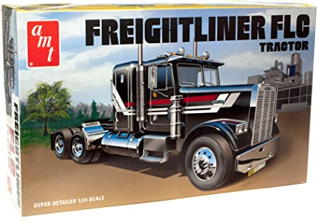1:24th Scale AMT Freightliner FLC Semi-Tractor – AMT Plastic Model Kit