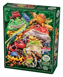 Cobble Hill Frog Business 1000 Pc Puzzle