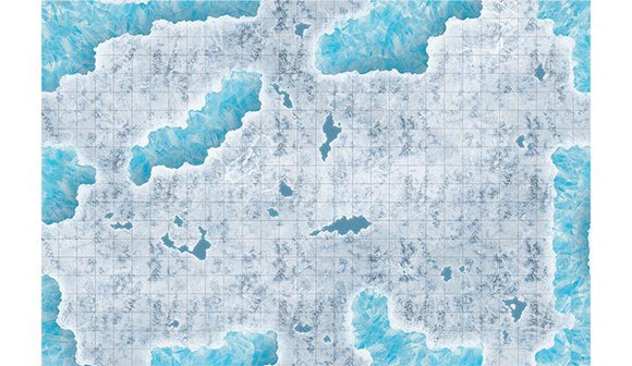 Battlefield in a Box: Caverns of Ice Encounter Map