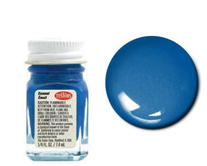 Testors 1111 Gloss Dark Blue Enamel Paint 1/4oz