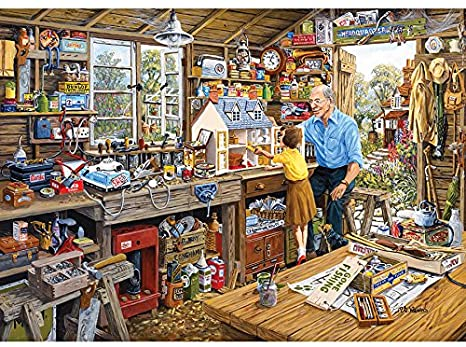 Grandad's Workshop 1000pc Puzzle