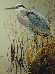 500pc Puzzle Cobble Hill Great Blue Heron