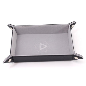 Die Hard: Folding Rectangle Tray With Grey Velvet