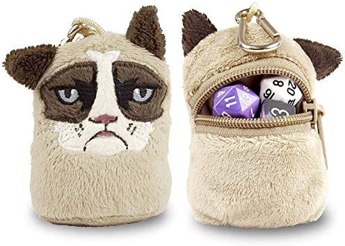 POUCH - GRUMPY CATS - DICE BAG