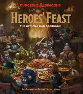 Dungeon & Dragons Heroes Feast Cookbook