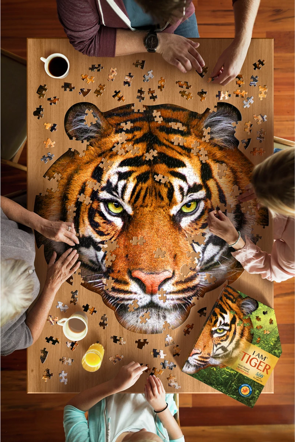 I AM TIGER 550 pc PUZZLE